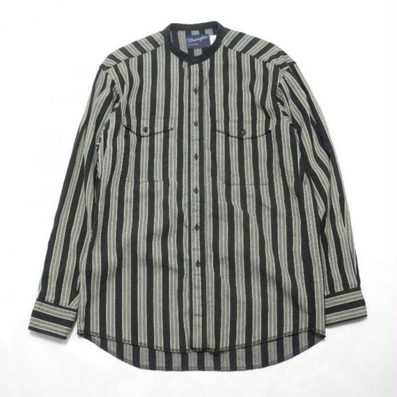 Wrangler  No Collar Stripe Shirt 15 1/2