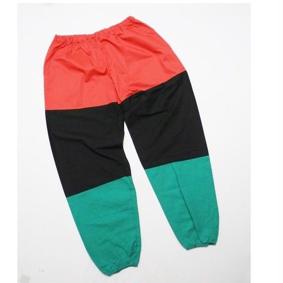 3color Cotton  Easy Pants  MADE IN USA DEAD STOCK