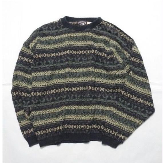 VICTORIA DRY GOODS COOTON KNIT MADE IN USA L