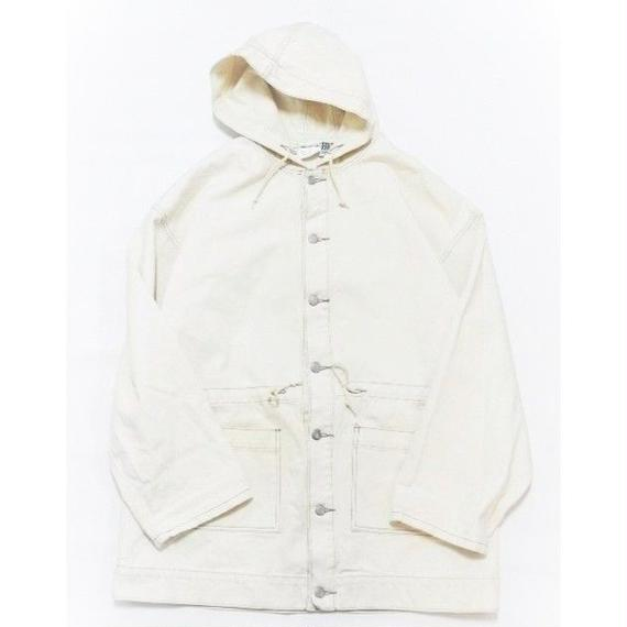 COTTON HOODIE COAT MADE IN USA M