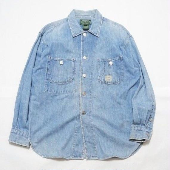 RALPH LAUREN COUNTRY DENIM SHIRT L