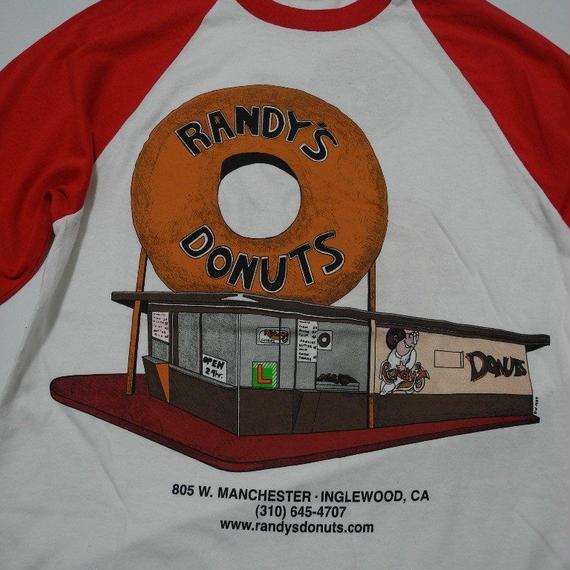 RANDYS DONUTS RAGLAN SLEEVES S
