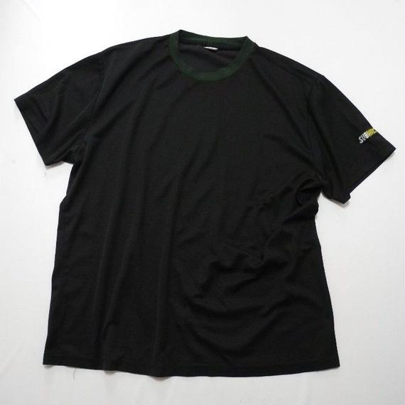 SUBWAY ONE POINT MESH T-shirt XL