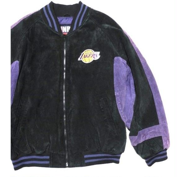 L.A LAKERS  Suede Jkt L