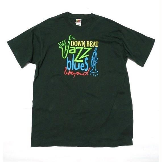 DOWN BEAT Jazz blues & beyond T-SHIRT XL