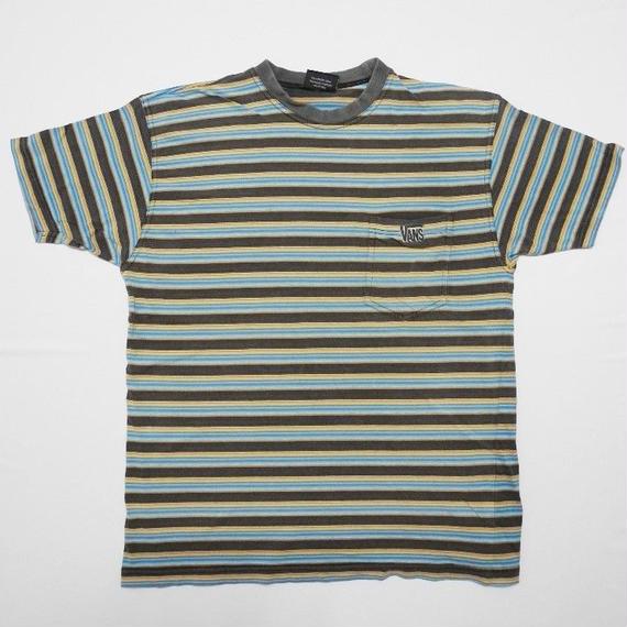 OLD VANS  striped T-shirt  L