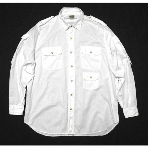 banana republic White safari shirt size XL