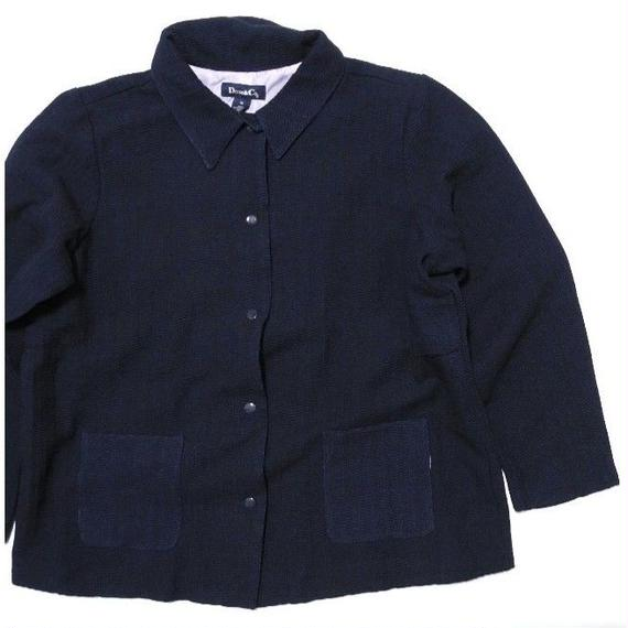 NEW DENIM&CO.  Cotton Indigo JKT 1X