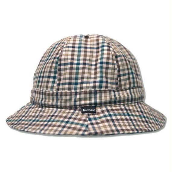 Skate Bell Hat    <Cream Gingham Plaid>