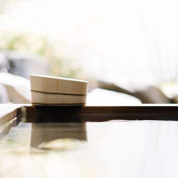 【受注生産】木曽の檜で作った湯桶