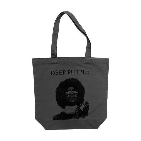 Deep Purple Rain _ Canvas Tote Bag / Chacoal Gray