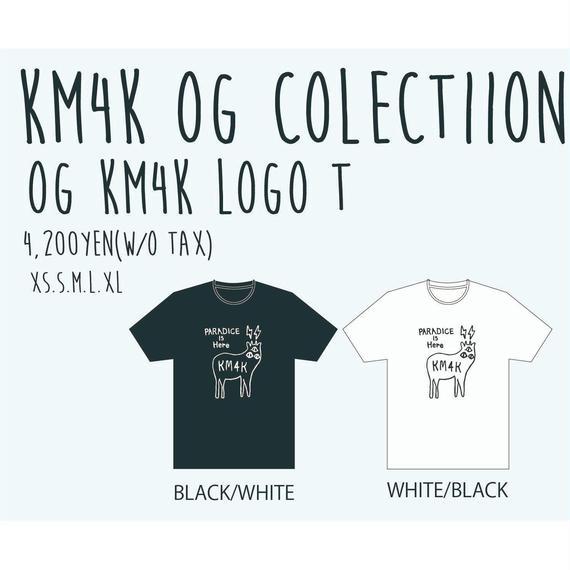 【KM4K OG 2018 ご予約専用】OG KM4K LOGO T