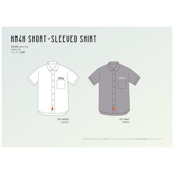 【KM4K SS 2018 】KM4K SHORT-SLEEVED SHIRT