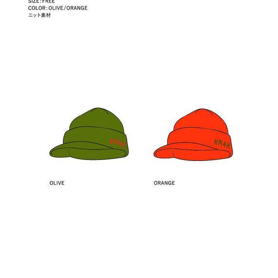 【17/18ご予約専用】KM4K GORO`S CAP