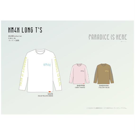 【KM4K SS 2018】KM4K LONG T's