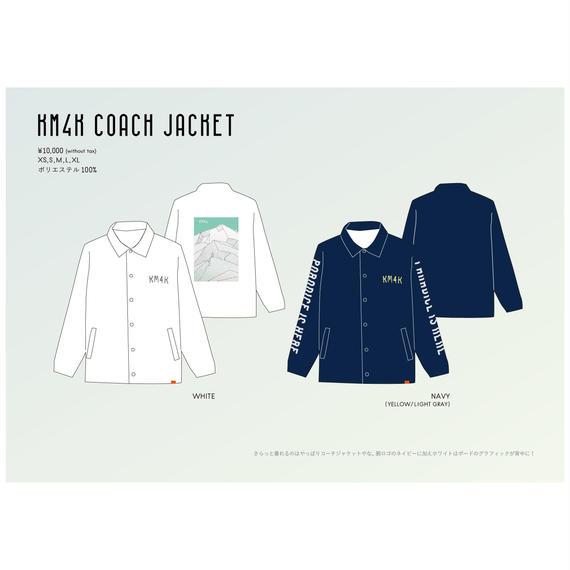 【KM4K SS 2018】KM4K COACH JACKET