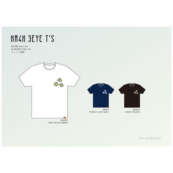 【KM4K SS 2018 】KM4K 3EYE T's