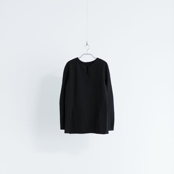 Women's Work Sweater Vネック [ブラック]