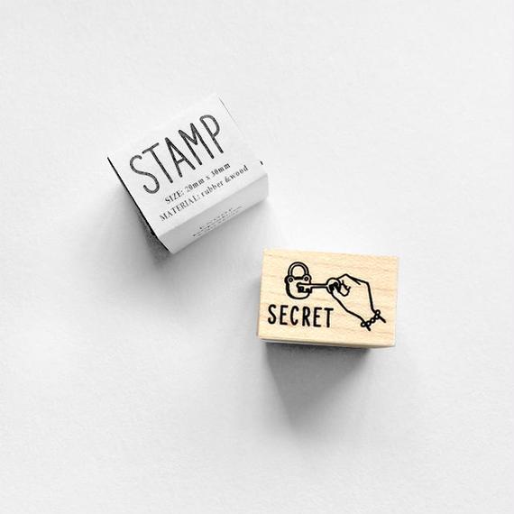 〈SECRET〉スタンプ