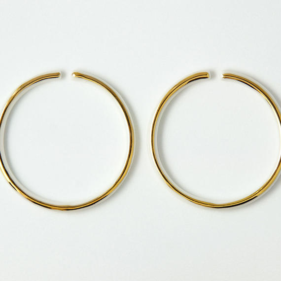THIS SIDE  Earrings L Gold