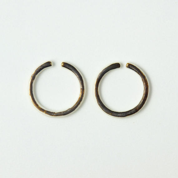 THIS SIDE  Earrings S Bronze