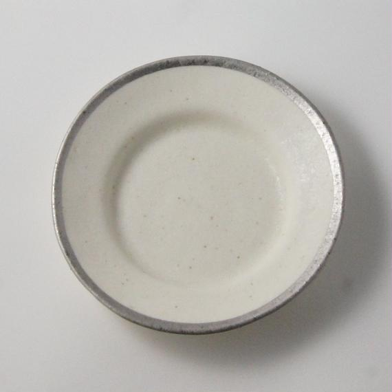 MY DISH Round Plate Platinum 17cm