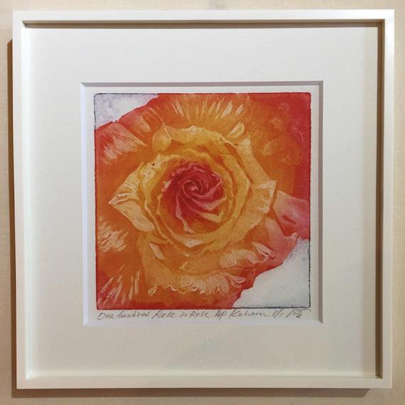 """アートプリント・シリーズ """"One hundred rose - 017 Abstract 3"""""""
