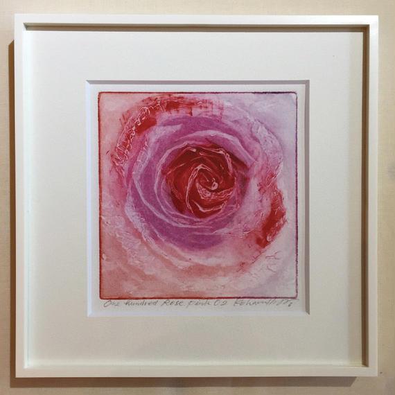 """アートプリント・シリーズ """"One hundred rose - 013 Pink O"""""""