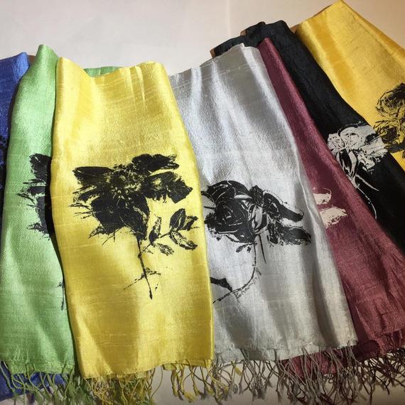 バラのスカーフ(7種類)