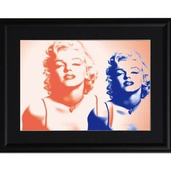 A4 ポスターフレームセット  【 The Marilyn #er03 】