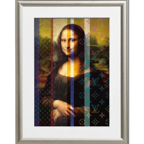 A4 ポスターフレームセット  【 MONA LISA ART #er01 】
