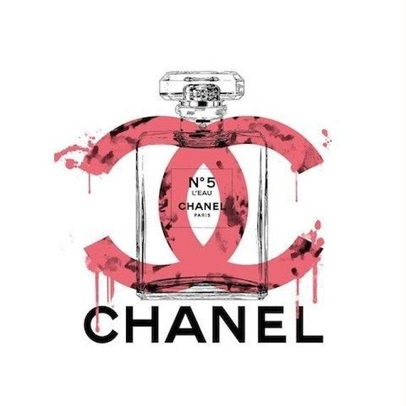 キャンバス530×410×D20mm 【CHANEL MELT 5番 #td58】