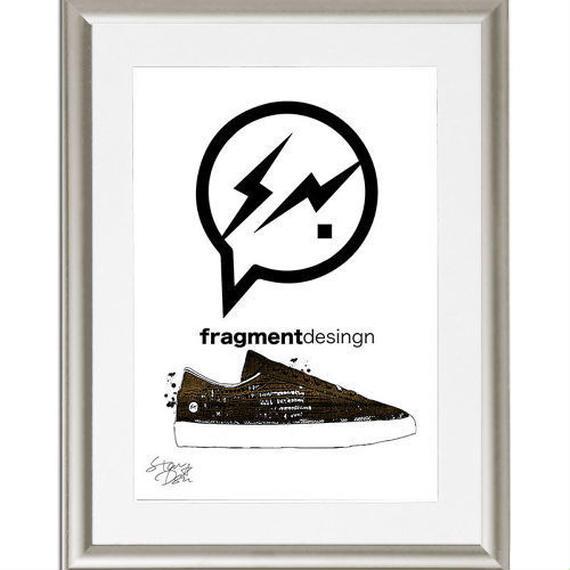 A4 ポスターフレームセット 【Fragment Design ポップアートポスター #td49】