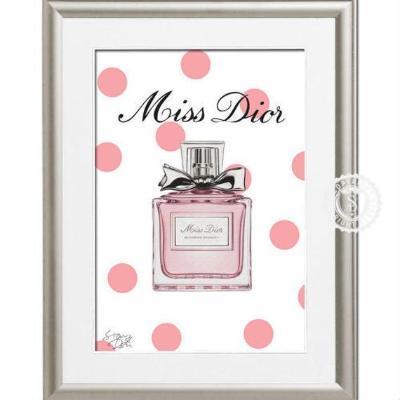 A4 ポスターフレームセット 【 Miss Dior #yg20 】