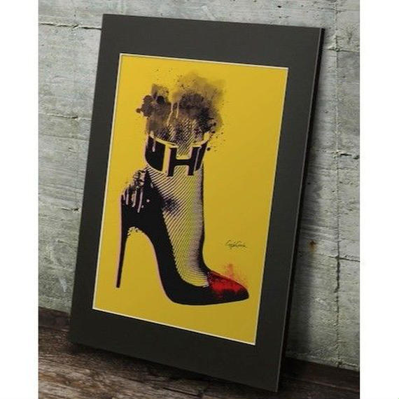 A2 高級マットパネル【 High heel 】