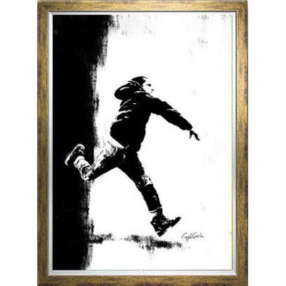 A1 高級ポスターフレームセット 『 レグルス 』【Boy throwing】