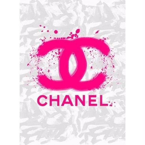 キャンバス727×530×D20mm 【 CHANEL SPRAY #td42 】