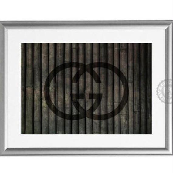 A4 ポスターフレームセット 【 bamboo G #hi25 a 】