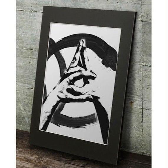 A1 高級マットパネル【sign language C】