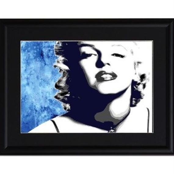 A4 ポスターフレームセット  【 The Marilyn #er04 】