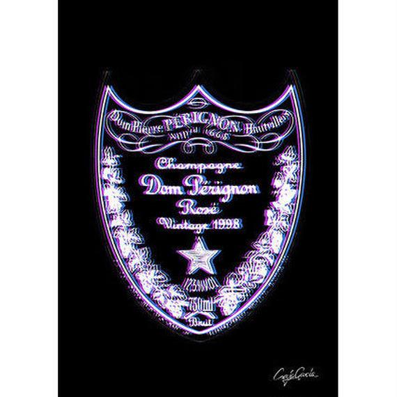 キャンバス 410×273×D20mm 【 DOM PERIGNON ROSE 】