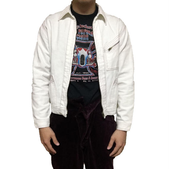 【USED】90'S VIVIENNE WESTWOOD WHITE DENIM JACKET