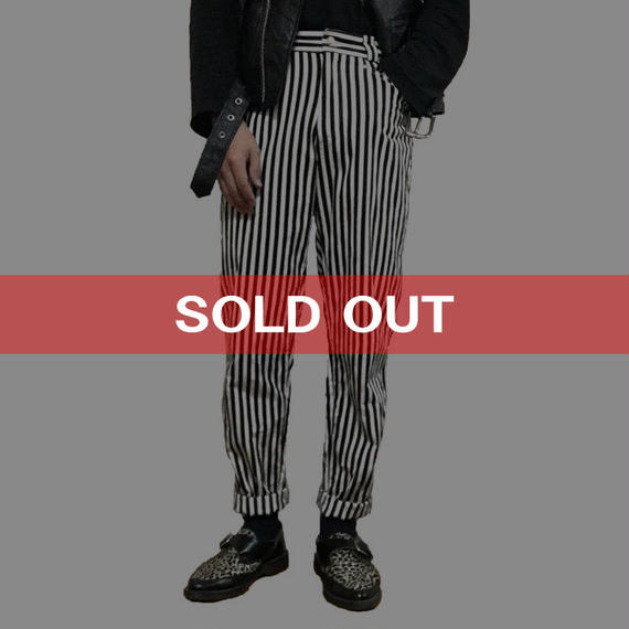 【USED】90'S GIANNI VERSACE STRIPE TROUSERS
