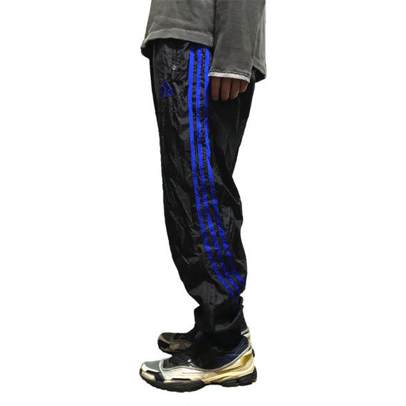 【USED】90'S-00'S ADIDAS 3-STRIPES POLYESTER TRACK PANTS