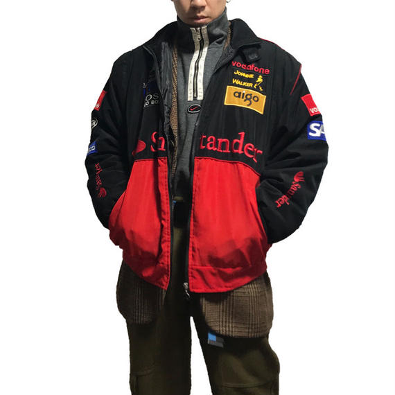 【USED】MERCEDES-BENZ WAPPEN RACING JACKET