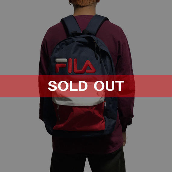 【USED】90'S  FILA BACKPACK