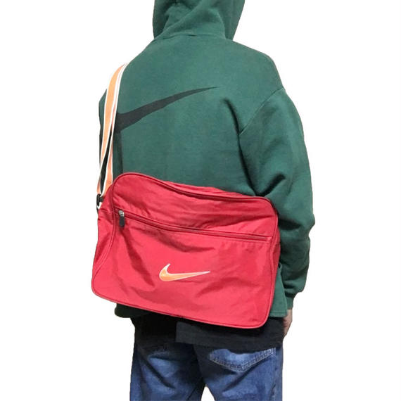 【USED】90'S-00'S NIKE SWOOSH LOGO SHOULDER BAG