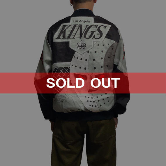 【USED】90'S CHALK LINE NHL LOS ANGELES KINGS BLOUSON
