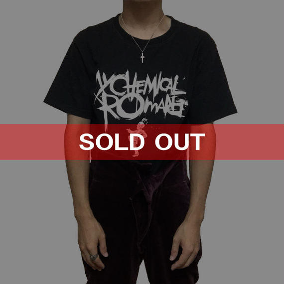 【USED】MY CHEMICAL ROMANCE T-SHIRT