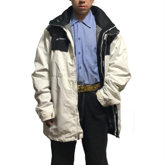 【USED】COLUMBIA 4WAY OVERSIZED MOUNTAIN JACKET
